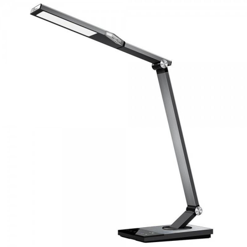 Lampa de birou TaoTronics, protectie ochi, control touch, 6 nivele luminozitate, USB, lumina de noapte 2021 shopu.ro