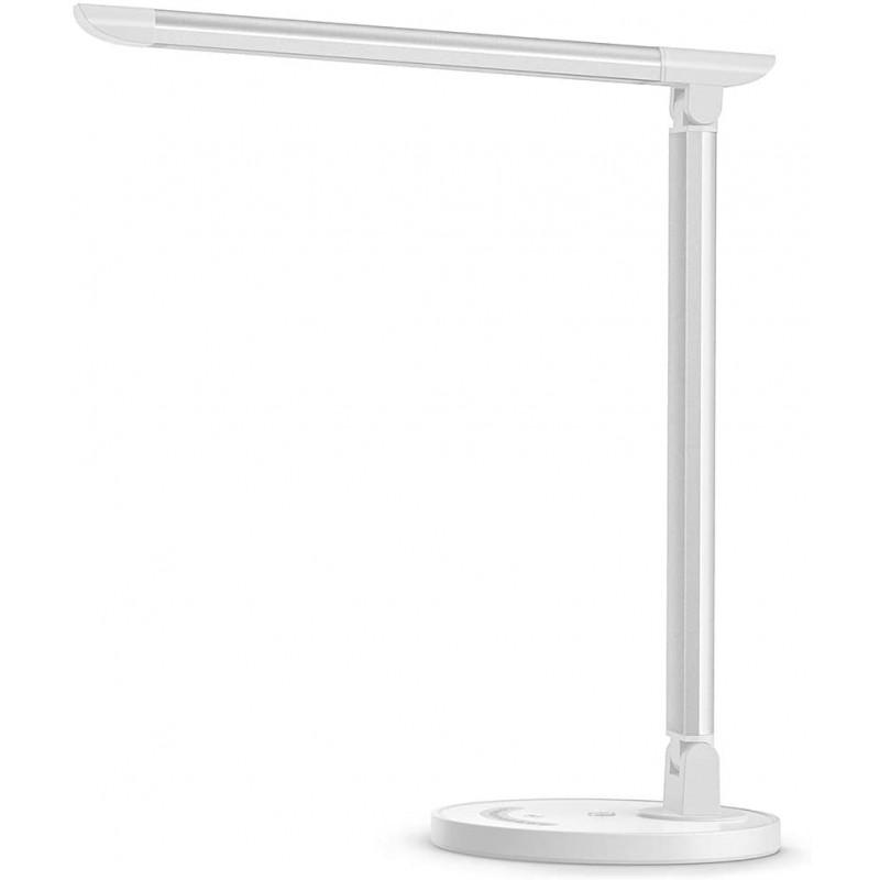 Lampa de birou TaoTronics, 12 W, 410 lm, control Touch, 5 moduri iluminare, Alb 2021 shopu.ro