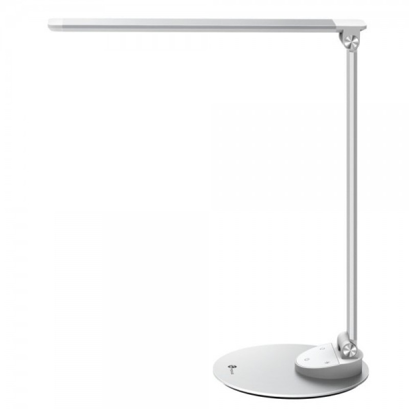 Lampa de birou TaoTronics, USB, control Touch, 5 moduri iluminare, Argintiu shopu.ro