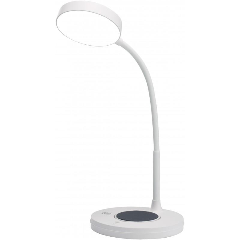 Lampa de birou LED Well, 5 W, 4000 K, 200 lm, incarcator wireless shopu.ro