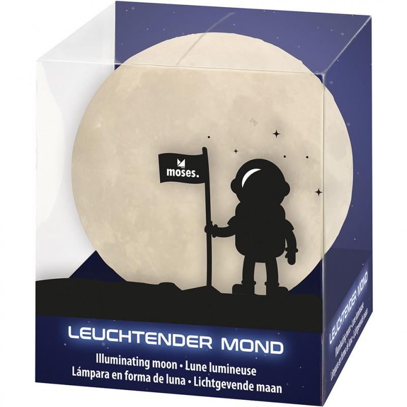 Lampa de veghe Luna Moses, 10 cm, LED, 3 x LR44, 3 ani+ 2021 shopu.ro