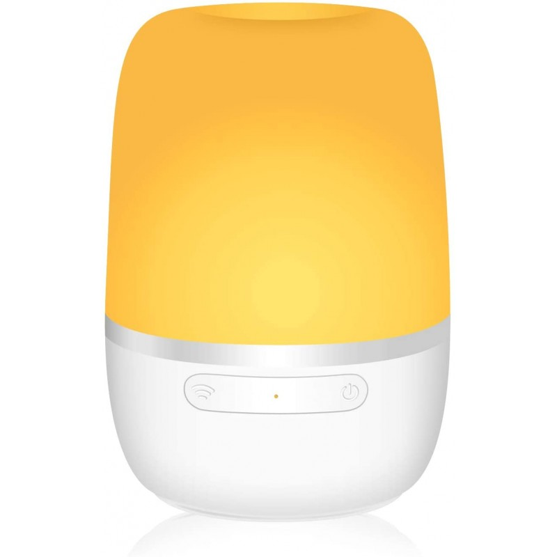 Lampa de veghe Smart Meross, 4 W, Wi-Fi, RGB, control iluminare si culoare 2021 shopu.ro