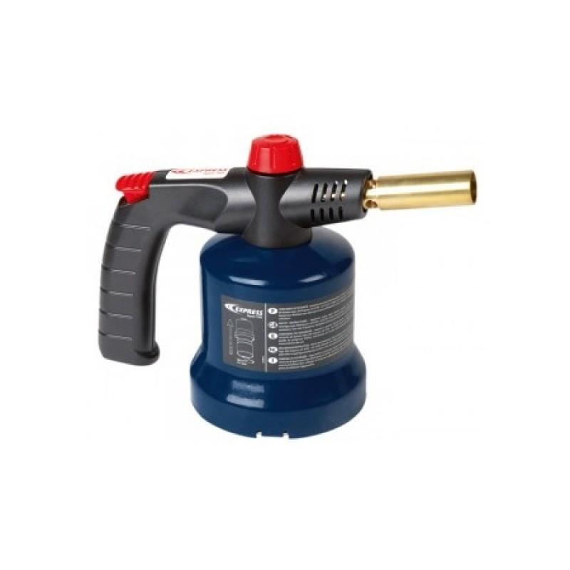 Lampa gaz universala instanta cu piezo electric Express, butelie 190 g, 1850 grade C 2021 shopu.ro