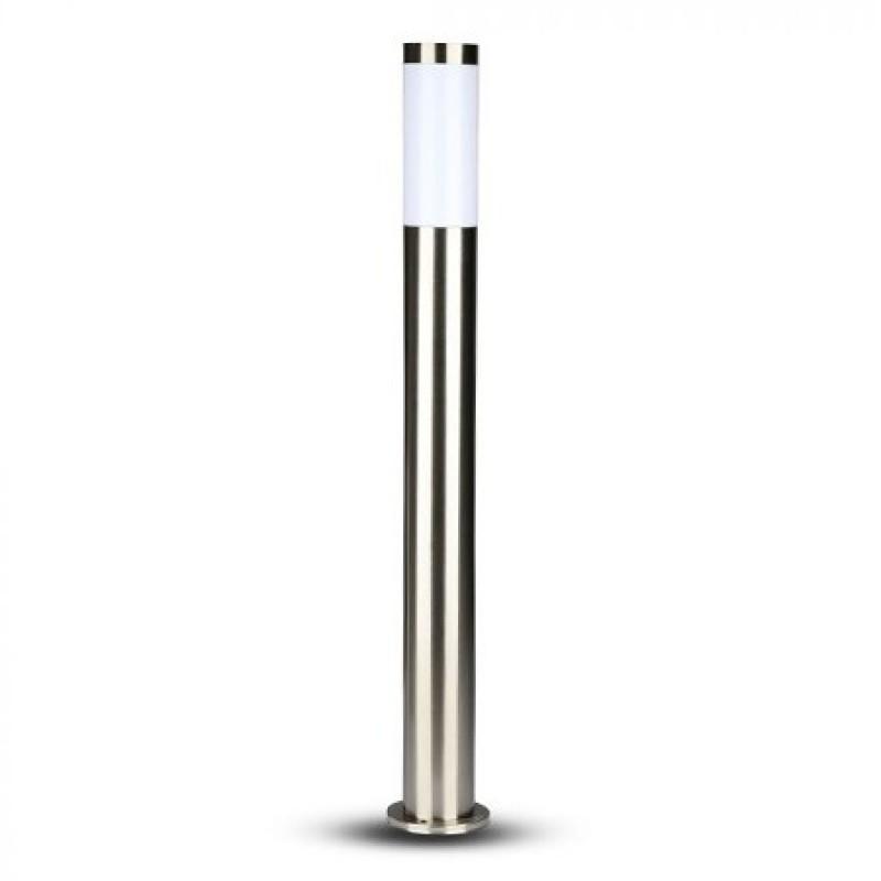 Lampa gradina V-Tac, 60 W, IP44, E 27, 76 x 800 x 110 mm, inox, Gri shopu.ro