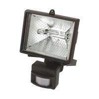 Lampa halogen Mega, 150 W, 220 V, senzor miscare, montare perete