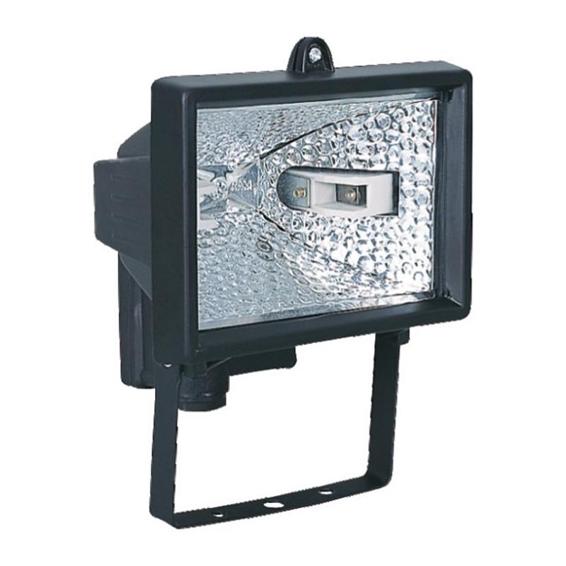 Lampa halogen Mega, 500 W, 220 V, senzor miscare, montare perete 2021 shopu.ro