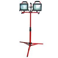 Lampa halogen portabila cu stativ complex Proline, 2 x 500 W, 220 V