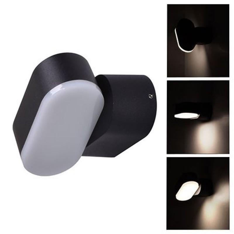 Lampa LED 6 W, orientabila, temperatura alb neutru, 660 lm, negru 2021 shopu.ro