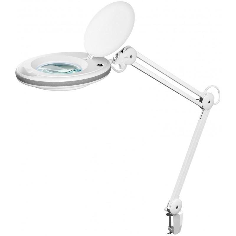 Lampa LED cu lentila de magnificare Goobay, 7.5 W, 125 mm shopu.ro