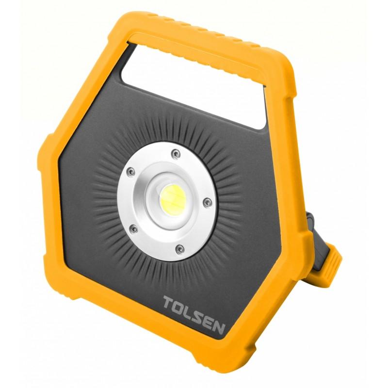 Lampa de lucru Tolsen, LED, 2 moduri, 350 lm/1100 lm, Li-ion 5V/1A, USB, 4000 mAh