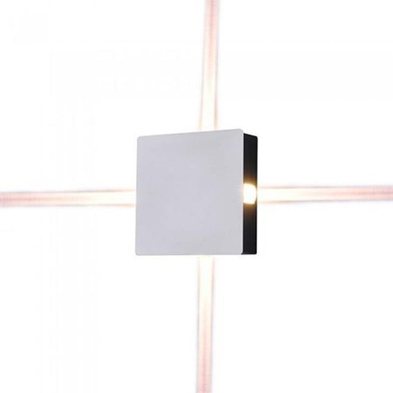 Lampa LED, putere 4 W. 440 lm, 4000 K, alb neutru, montaj perete, alb 2021 shopu.ro