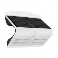 Lampa LED solara, 6.8 W, temperatura alb neutru, 800 lm, senzor miscare