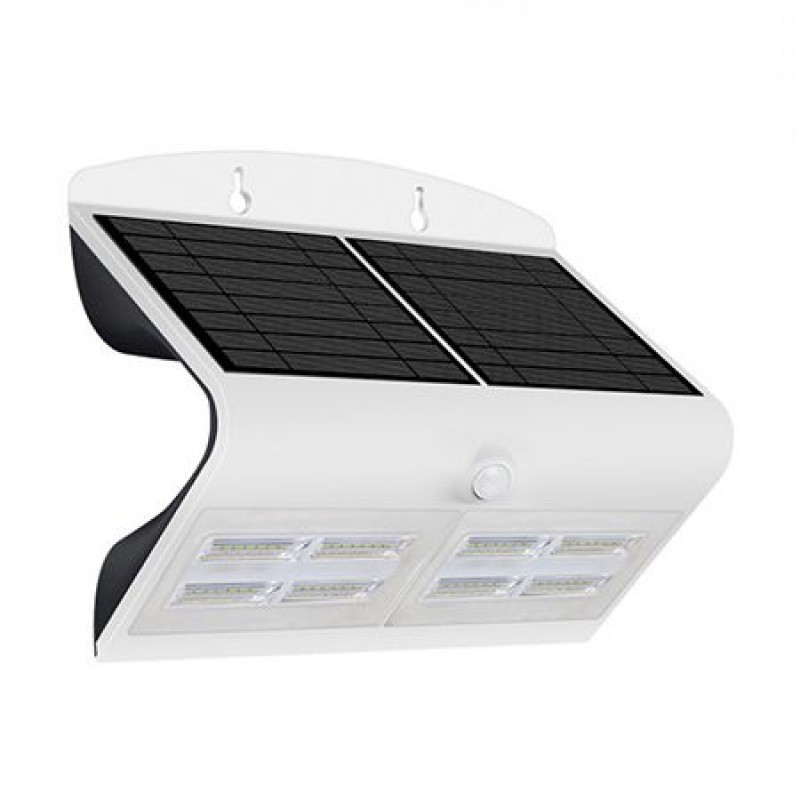 Lampa LED solara, 6.8 W, temperatura alb neutru, 800 lm, senzor miscare shopu.ro
