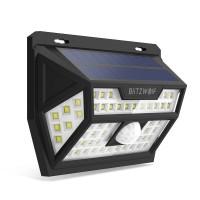 Lampa solara BlitzWolf, LED, 62 x LED, 2200 mAh, senzor de miscare