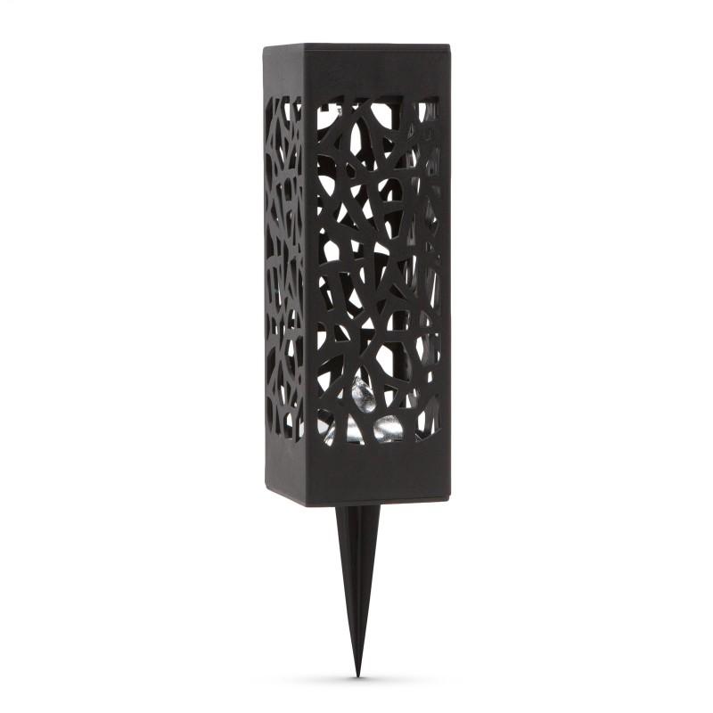 Lampa solara Globiz, LED, 200 mAh, Ni-MH, 6.2 x 6.2 x 19 cm, plastic 2021 shopu.ro