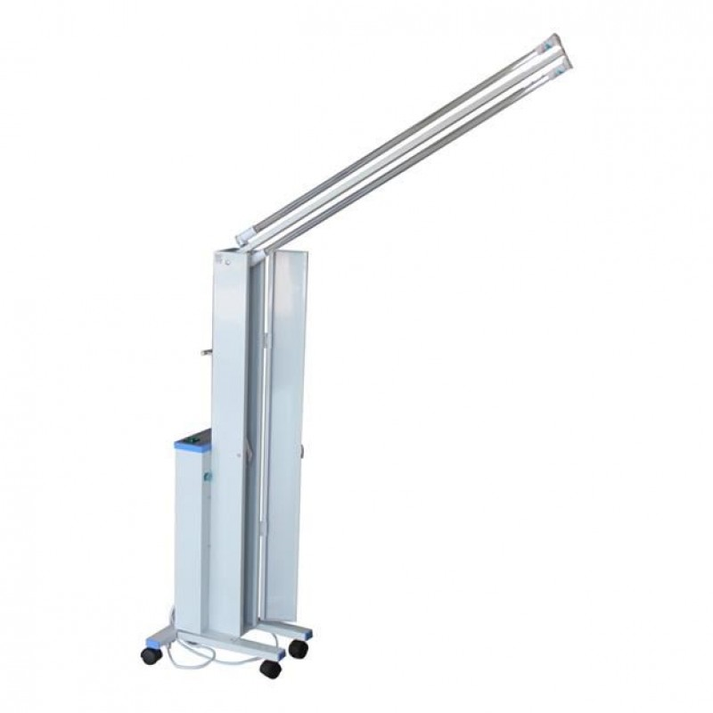 Lampa bactericida UVC Siegbert, 2 x 30 W, rotire 180 grade, brat mobil 2021 shopu.ro