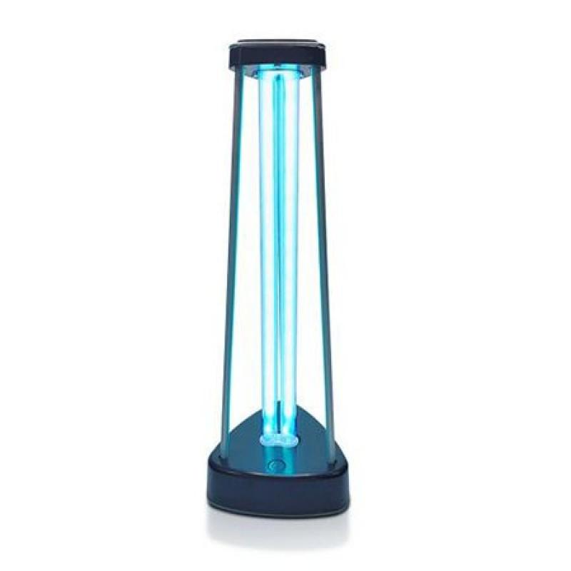 Lampa bactericida dubla sterilizare Ultraviolete si Ozon, 38 W, 230 V, IP 20, 14 x 15 x 43.7 cm, Negru 2021 shopu.ro