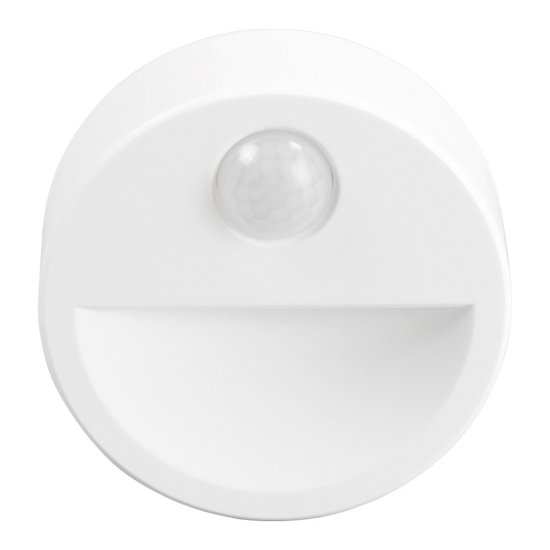 Lampa de veghe Rebel, LED, 0.5 W, 19 lm, 6500 K, senzor miscare, lumina alb rece, ABS, raza actiune 2-3 m 2021 shopu.ro