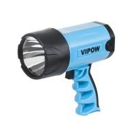 Lanterna Vipow, LED 3 W, iluminare pana la 200 m, acumulator incorporat