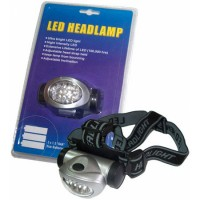 Lanterna frontala URZ0050-8, 8 LED-uri, 3 x AAA