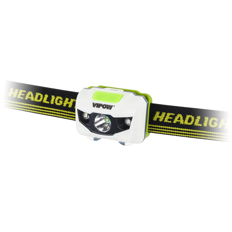 Lanterna cu LED COB Vipow, frontala, 3 W, 120 lm, 3 AAA 2021 shopu.ro