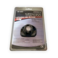 Lanterna de frunte Vipow, 1 LED FLUX Super-luminos, 1W