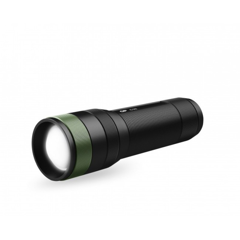 Lanterna LED GP C32, 300 lm, 3 x AAA, aluminiu, negru shopu.ro