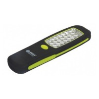 Lanterna magnetica cu carlig Mega, 24 x LED, 3 x AA, 210 mm