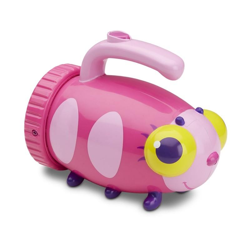 Lanterna pentru copii Giddy Buggy, Melissa and Doug, roz 2021 shopu.ro