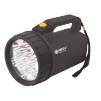 Lanterna proiectoare Mega, 13 leduri, 4 x D, 170 mm