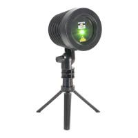 Laser exterior RG Ibiza, IP65, 9 moduri functionare, telecomanda