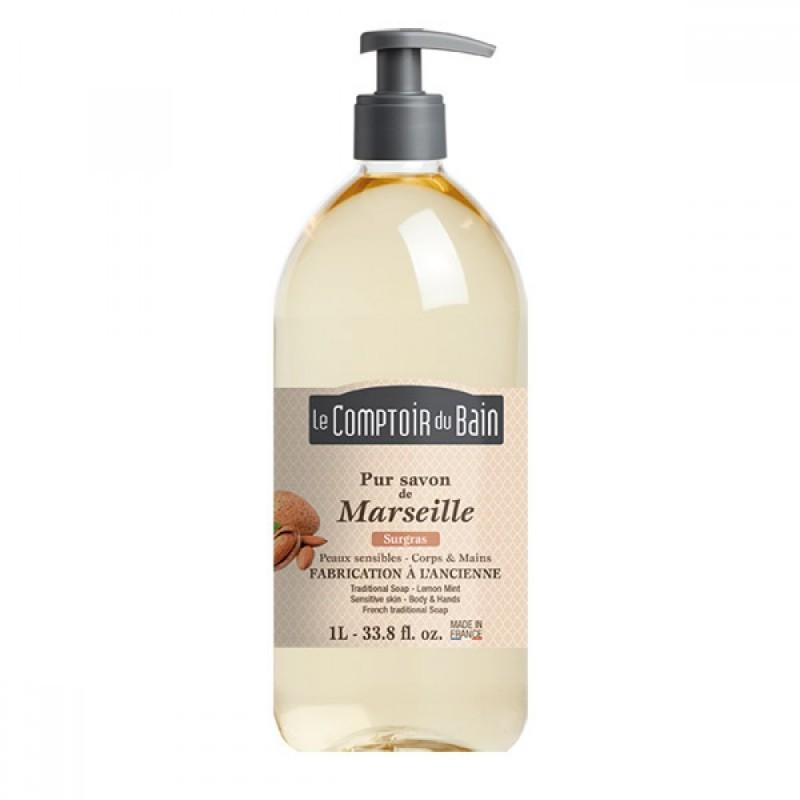 Sapun lichid de Marsilia Le Comptoir du Bain, 1000 ml, hipoalergenic 2021 shopu.ro