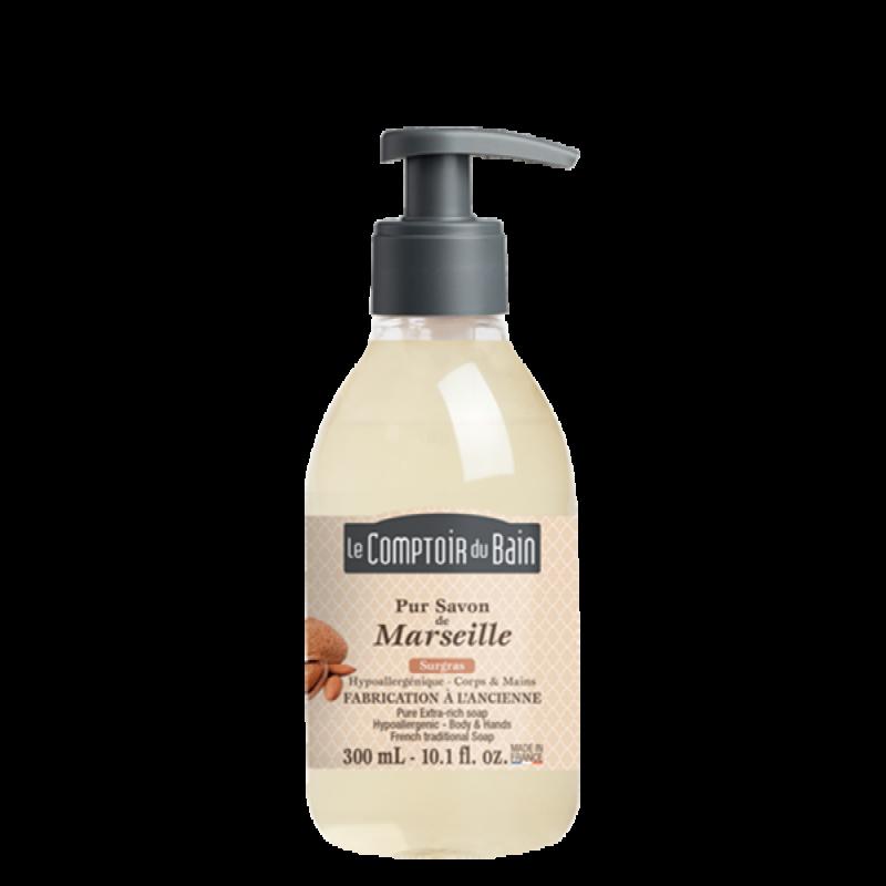 Sapun lichid de Marsilia Le Comptoir du Bain, 300 ml, hipoalergenic 2021 shopu.ro