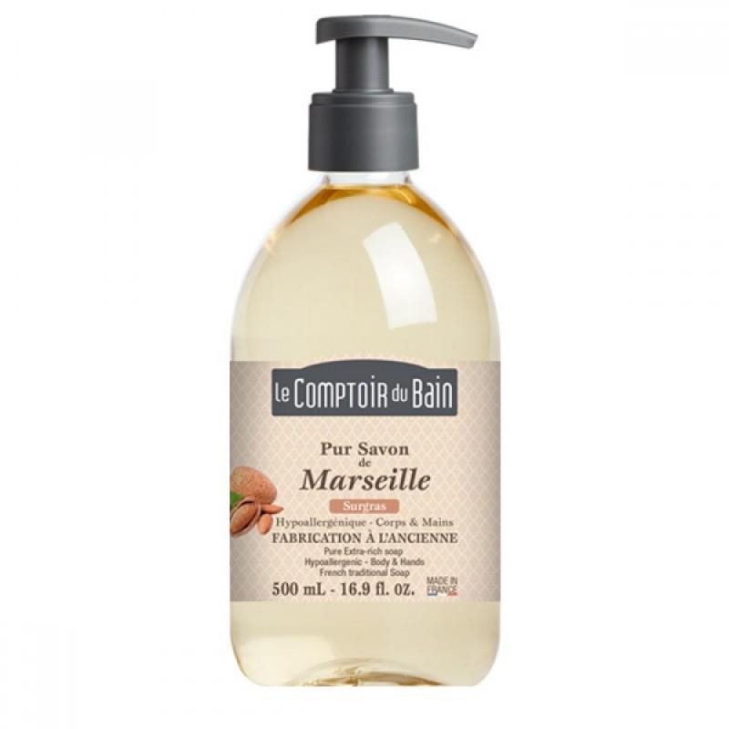 Sapun lichid de Marsilia Le Comptoir du Bain, 500 ml, hipoalergenic 2021 shopu.ro