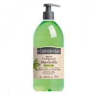 Sapun lichid de Marsilia Le Comptoir du Bain, 1000 ml, verbina
