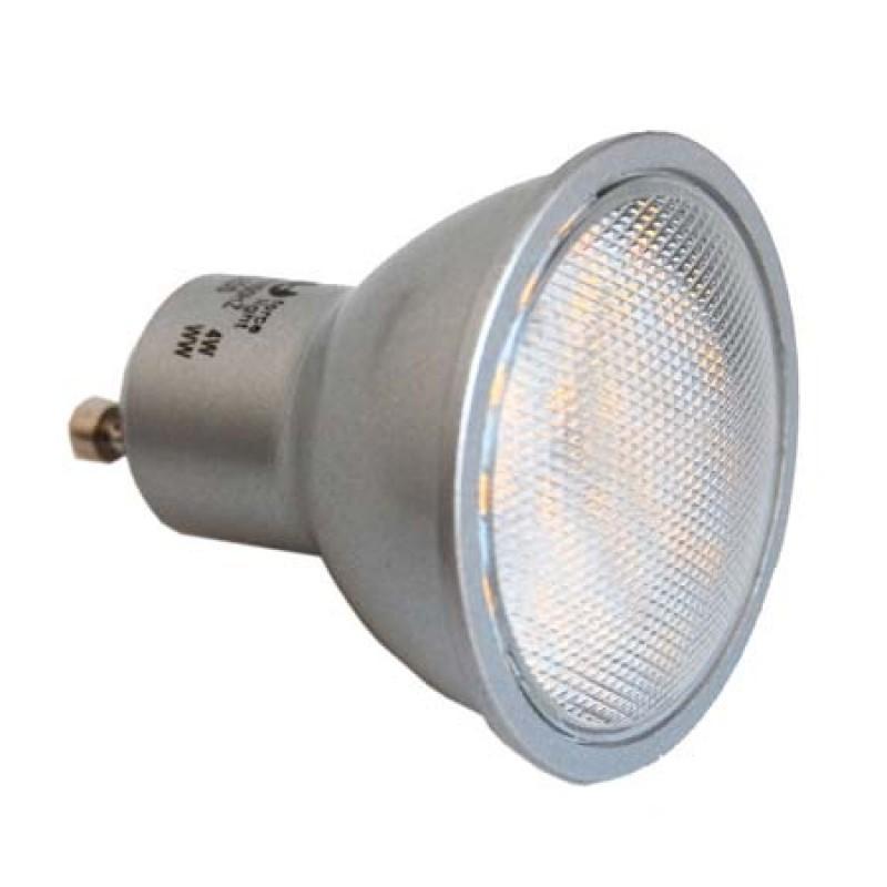 Spot cu 24 LED-uri, GU10, 4 W, SMD 2835, alb cald shopu.ro