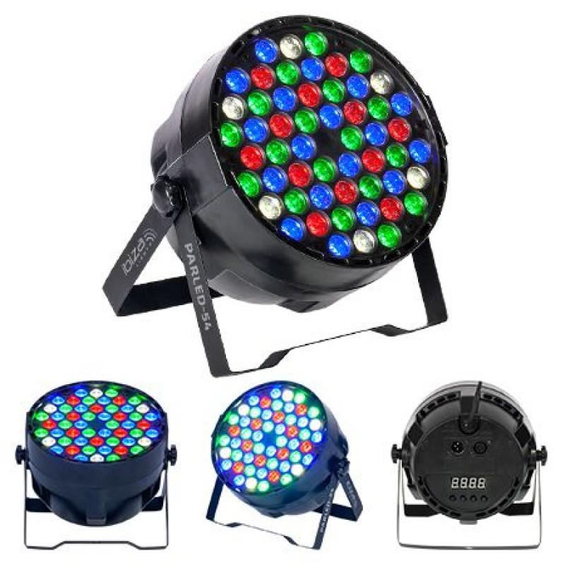 Proiector LED PAR, 50 W, 54 x LED, RGBW, 8 canale DMX 2021 shopu.ro