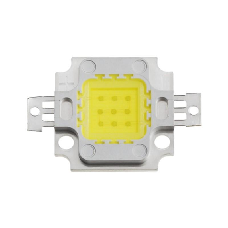Reflector LED SMD, 10 W, 6400 K, lumina alb rece