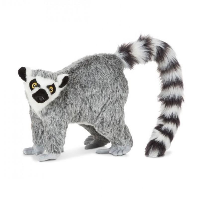Lemur gigant din plus Melissa & Doug, 71 cm