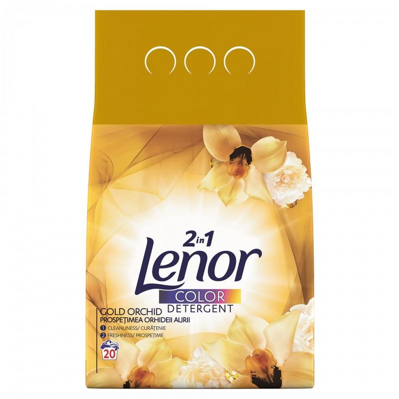 Detergent de rufe automat Lenor Gold Orchid, 2 kg 2021 shopu.ro