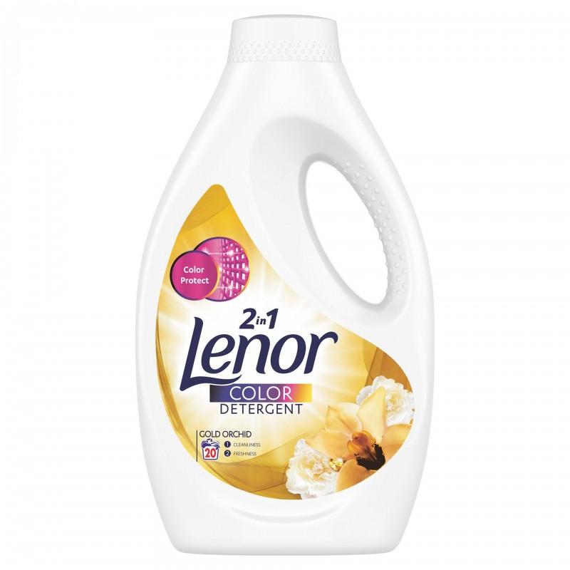 Detergent lichid automat Lenor Gold Orchid, 1.1 l 2021 shopu.ro