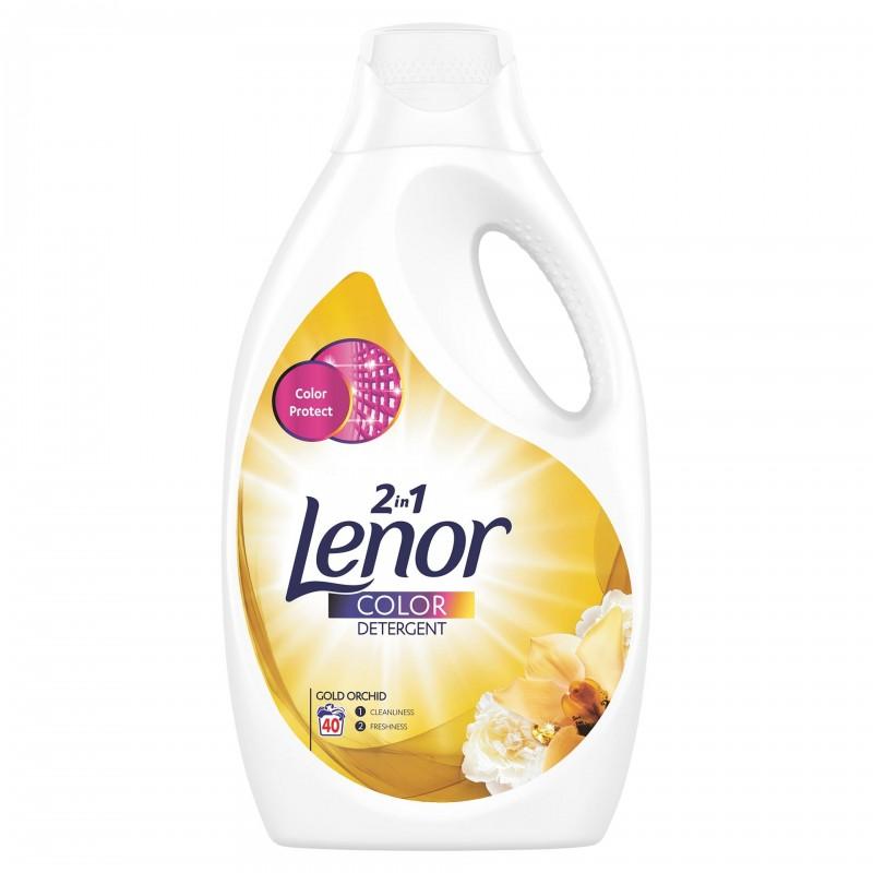 Detergent lichid automat Lenor Gold Orchid, 2.2 l 2021 shopu.ro