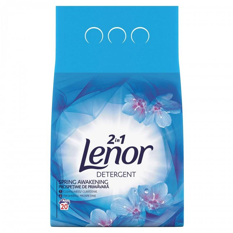 Detergent de rufe automat Lenor Spring Awakening, 2 kg 2021 shopu.ro
