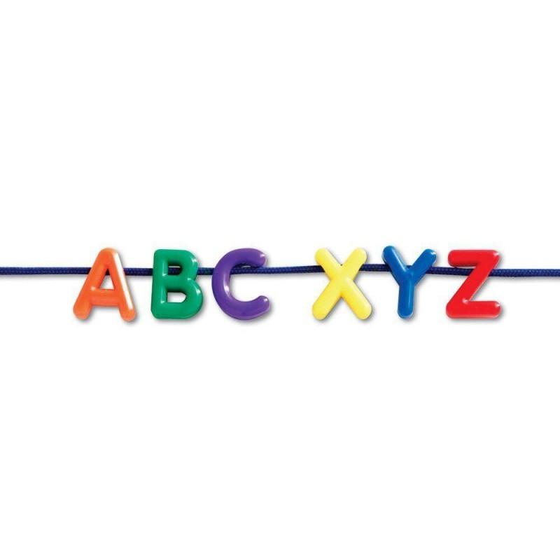 Litere mari pentru snuruit Learning Resources, 275 piese, 3 - 10 ani