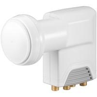 Convertor LNB universal Goobay, 4 x iesiri, 0.1 dB