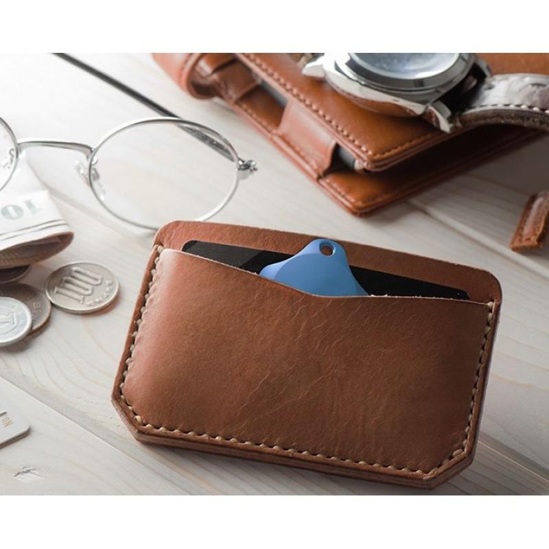 Localizator Bluetooth Lapa, dispozitiv anti-pierdere si localizare rapida, Bleu