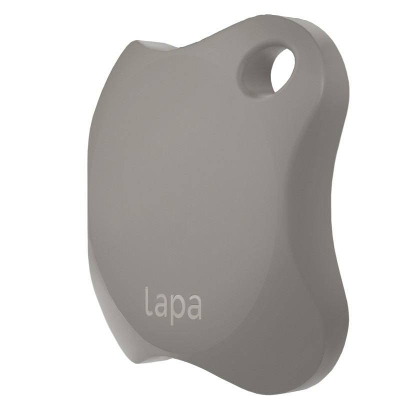 Localizator Bluetooth Lapa, dispozitiv anti-pierdere si localizare rapida, Gri 2021 shopu.ro
