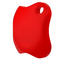 Localizator Bluetooth Lapa, dispozitiv anti-pierdere si localizare rapida, Rosu