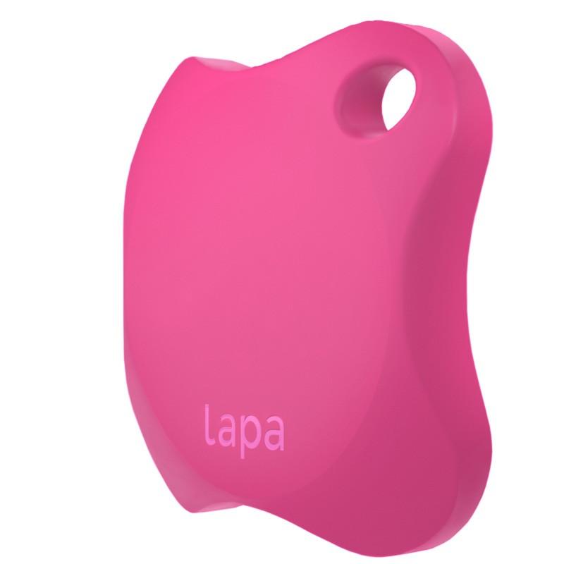 Localizator Bluetooth Lapa, dispozitiv anti-pierdere si localizare rapida, Roz 2021 shopu.ro