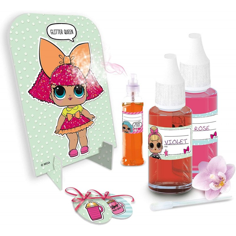 Set frumusete pentru fetite Parfum Lol Surprise Lisciani, 10 ml, 8 ani+ 2021 shopu.ro